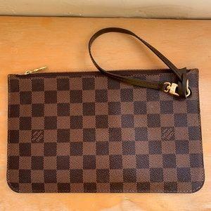 Louis Vuitton- Neverfull matching wallet